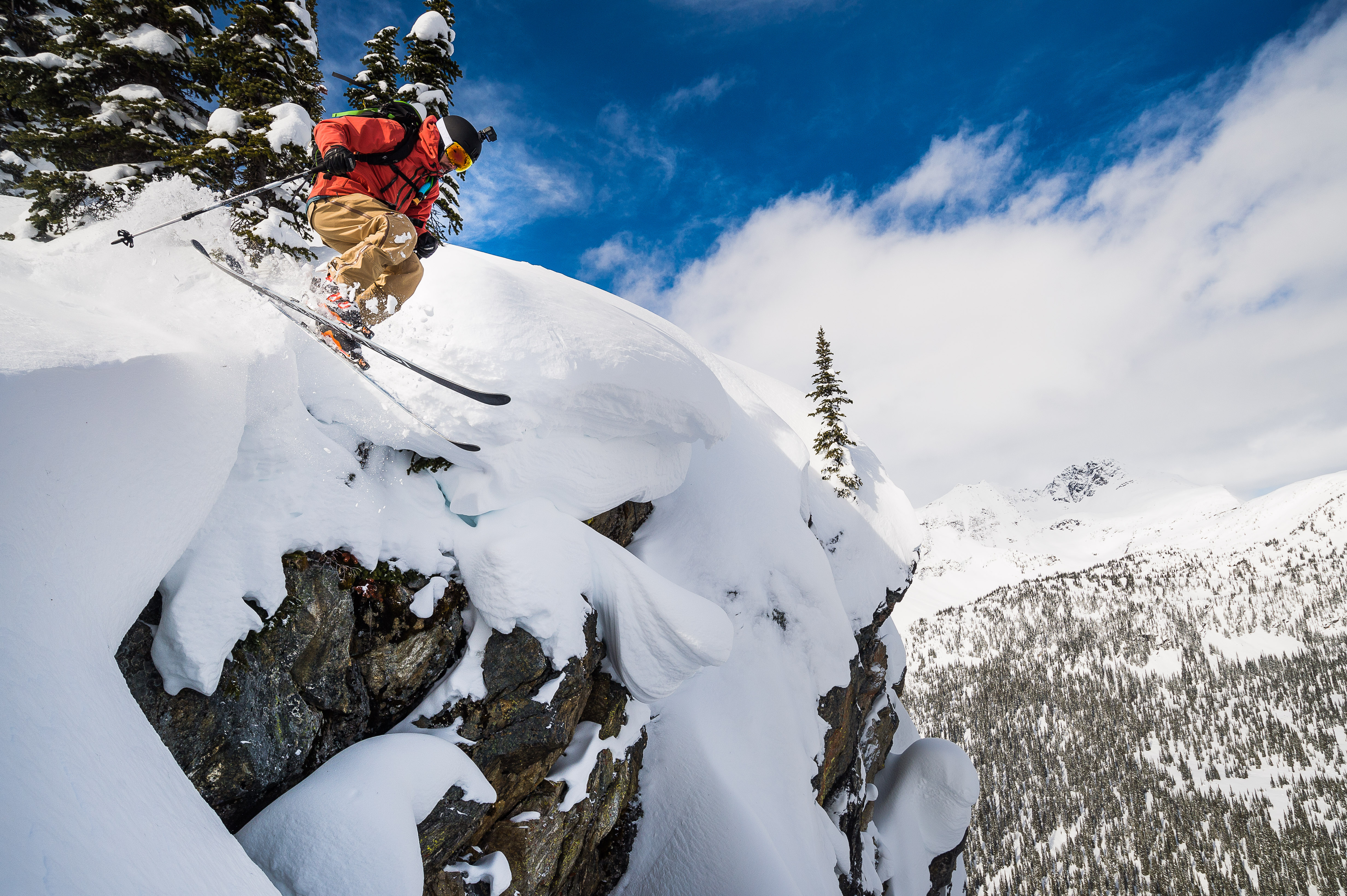 Andy Culp, Dropping Lines at Silver TIp Heli, Alain Sleigher Photo Credit