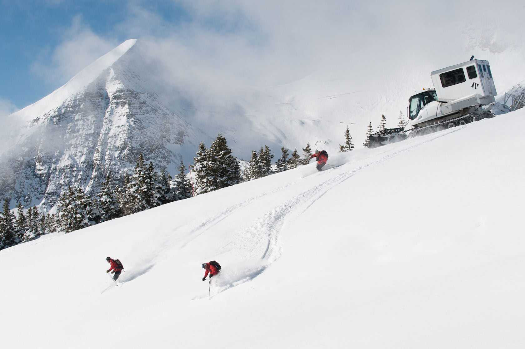 Eleven Cat Skiing Sopris House